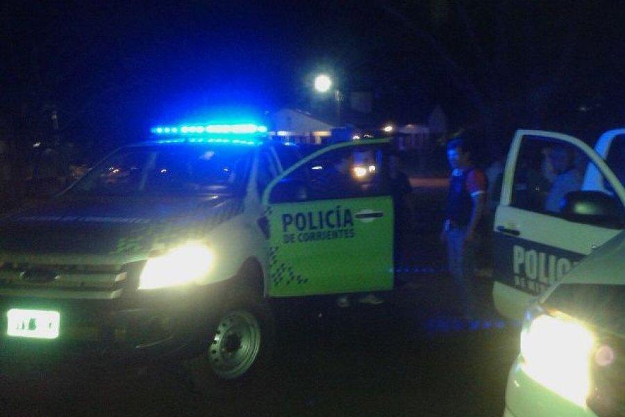 Tensión en el barrio Cichero: Un hombre se atrincheró y amenazó a su familia