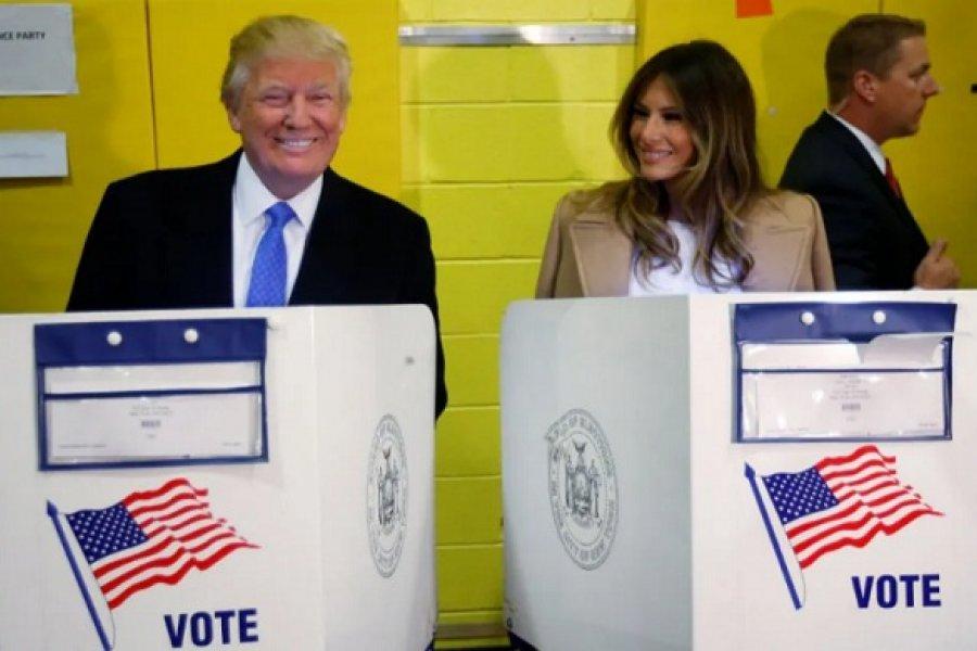 Donald Trump vota hoy en Florida, diez días antes de las elecciones en Estados Unidos