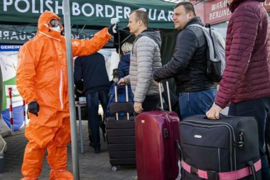 Polonia, nueva zona roja del coronavirus: crecen los casos y dio positivo el Presidente