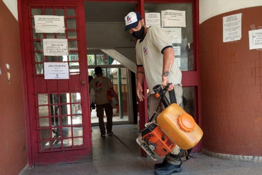 Corrientes: Por 3 casos positivos de Covid-19, desinfectan el Consejo General de Educación