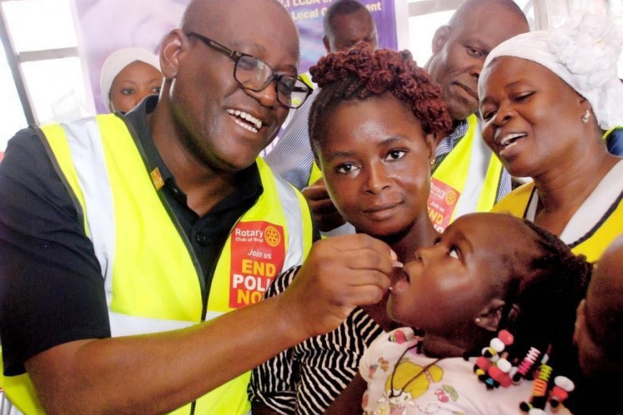 ¿Sabían que la polio podría ser la segunda enfermedad en ser erradicada en la historia?
