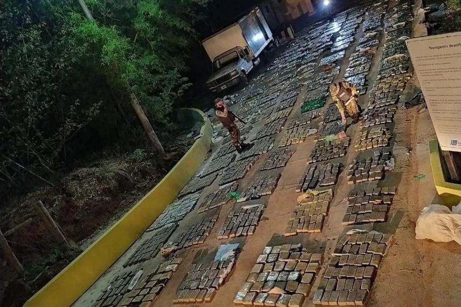 Prefectura incautó cerca de 3 toneladas de marihuana