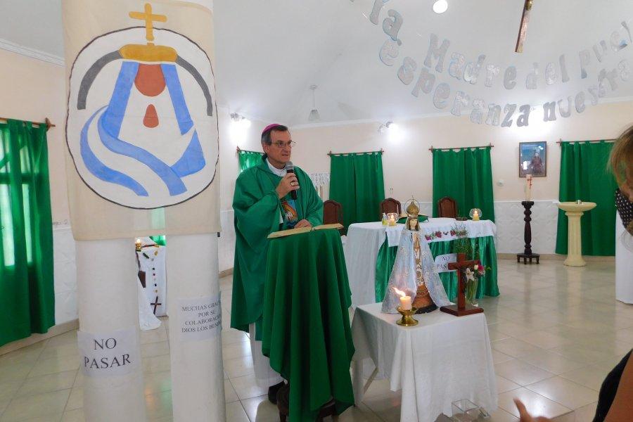 El obispo presidió la misa de la de catequesis especial en el Mes de la Plena Integración