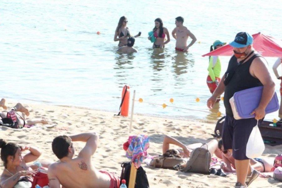 Más de 4.500 personas visitaron las playas este fin de semana