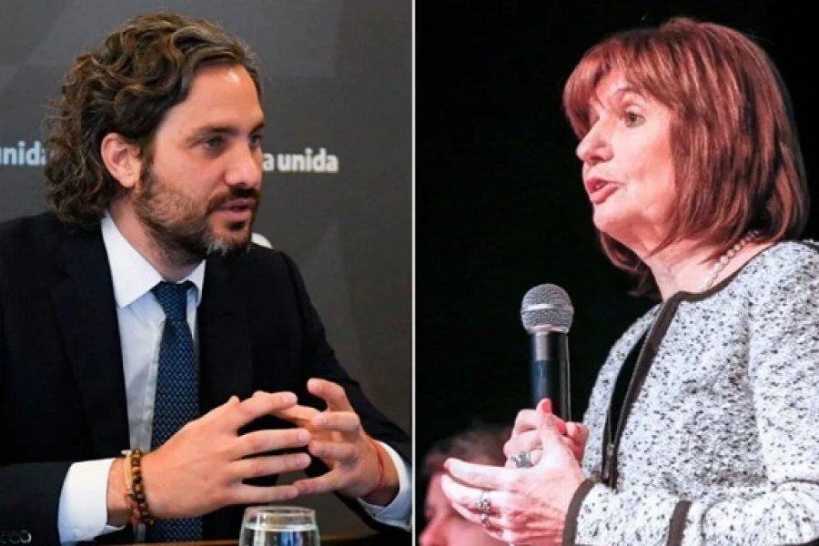 Santiago Cafiero cruzó a Patricia Bullrich por sus dichos sobre las tomas de tierras