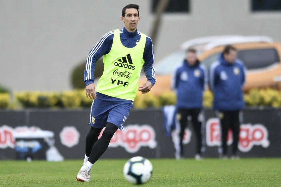 Ángel Di María vuelve a la Selección Argentina