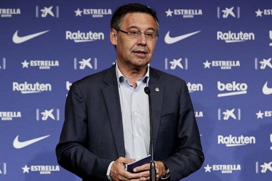 Bartomeu presentó su renuncia como presidente del Barcelona