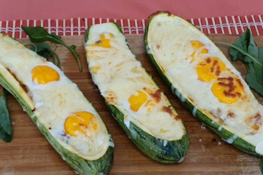 Barquitos de zucchinis veggies, la receta  vas a querer probar ya