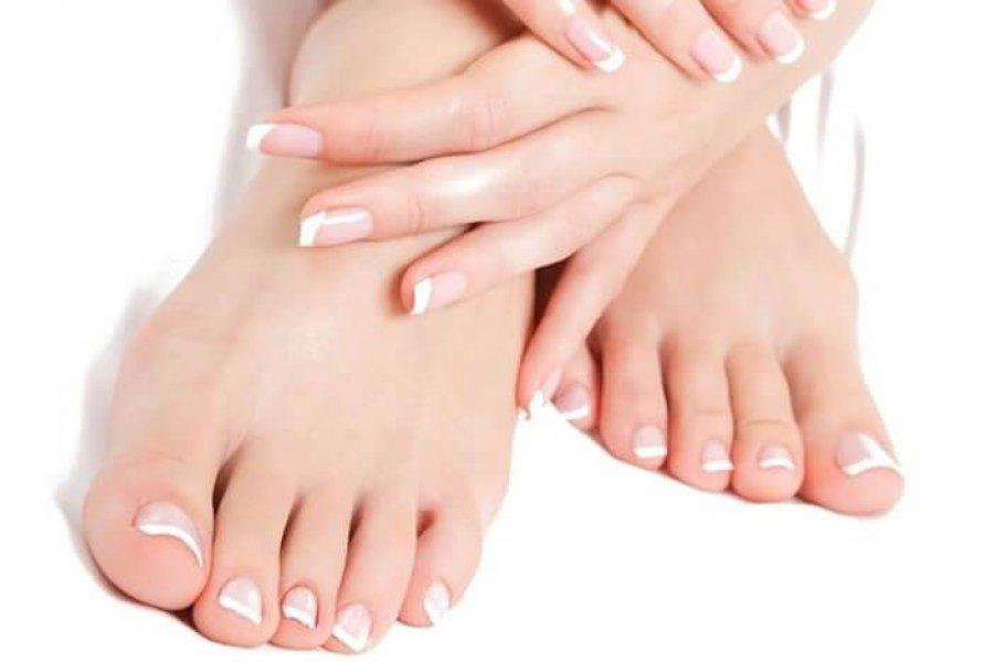 Cómo blanquear las uñas de los pies en 7 pasos