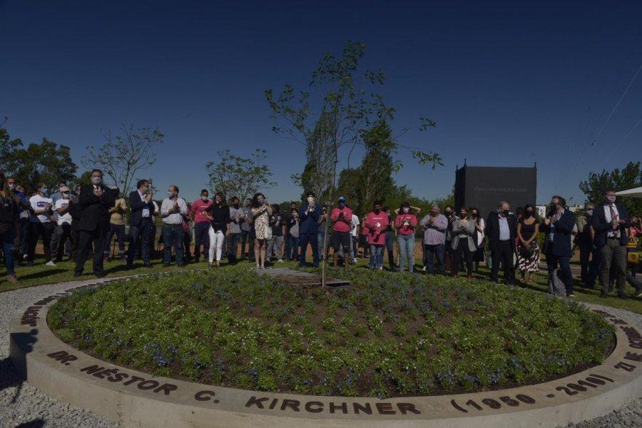 Se realizó un homenaje a Néstor Kichner en Tecnópolis