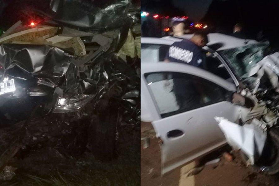 Tres muertos en un triple choque sobre la ruta nacional 14