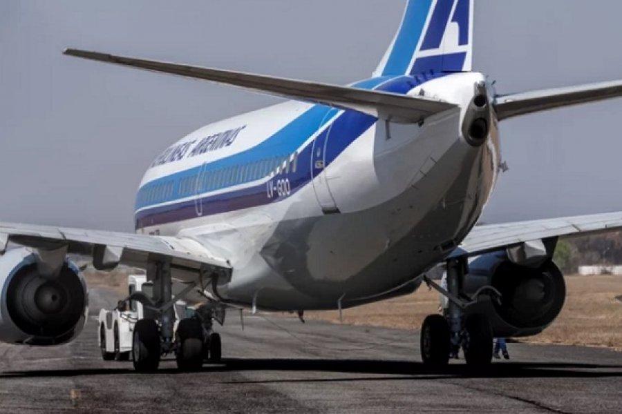 Llegará a Corrientes el primer vuelo programado