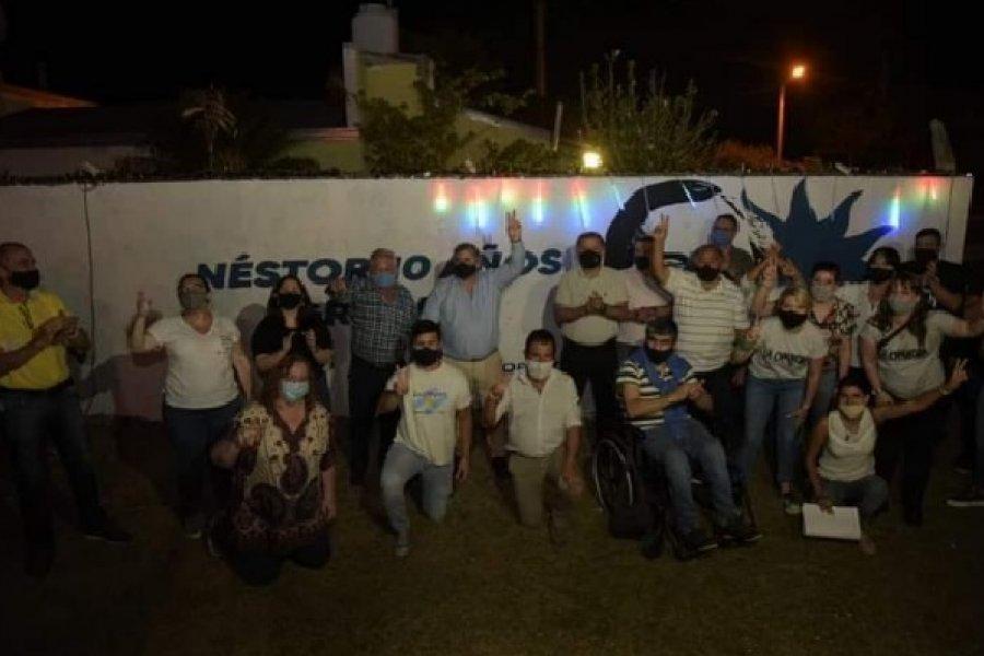 Modesto homenaje a Néstor Kirchner en el barrio que lleva su nombre