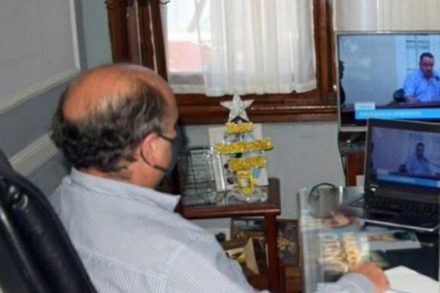 Mercedes: El Intendente participó del primer encuentro de la Comisión de emergencia ambiental