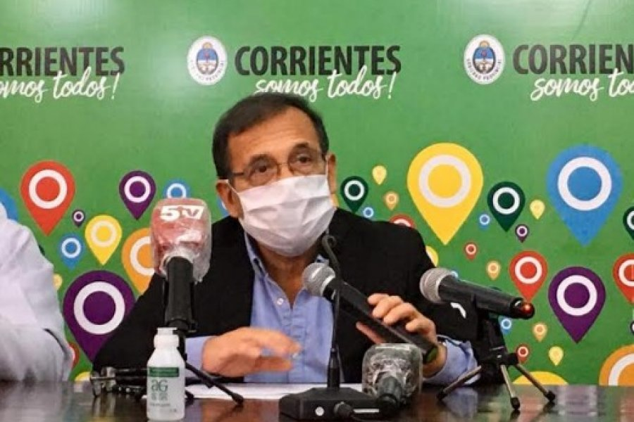 Covid: Para el ministro Cardozo estamos bien en Corrientes