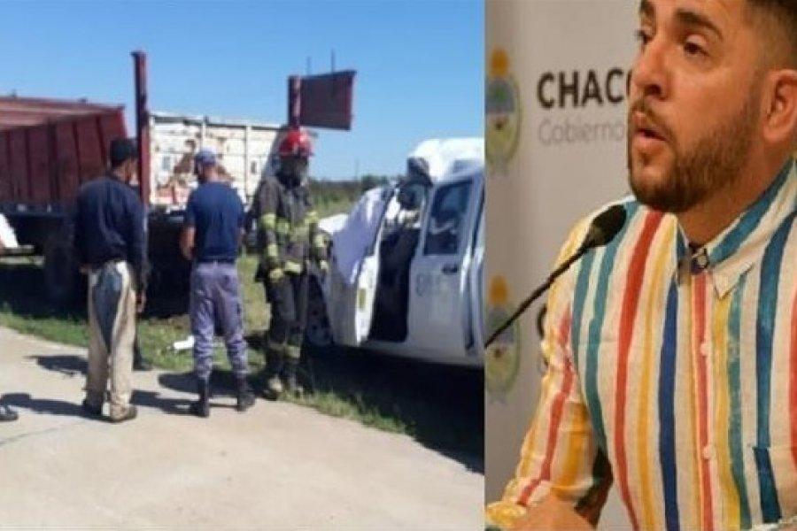 Chaco: Trágico choque entre un camión y una camioneta de Salud