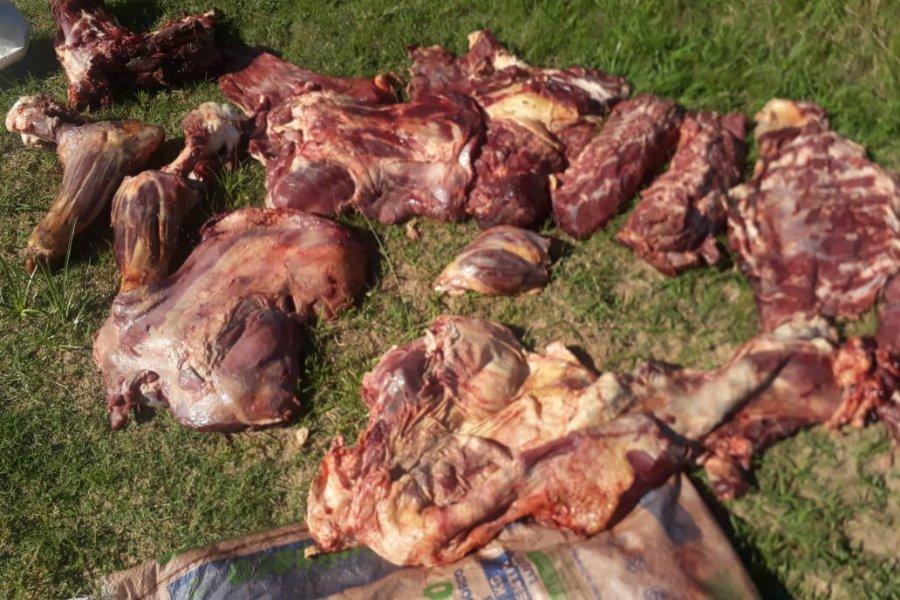 Incautaron carne vacuna y detuvieron a un hombre en Concepción
