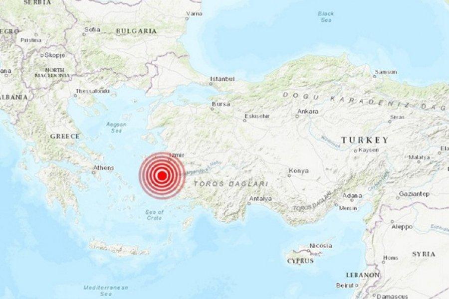 Un fuerte terremoto de 6,9 sacude la costa de Turquía y las islas griegas del Egeo