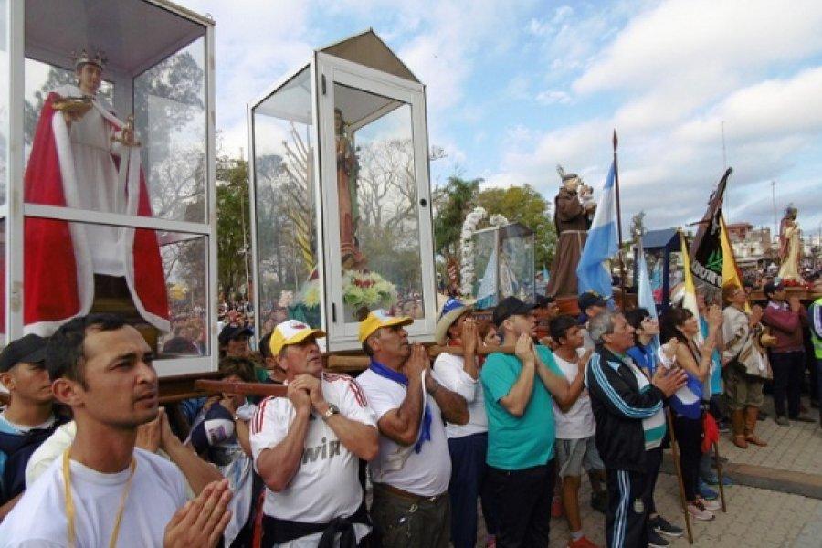 Proponen declarar Patrimonio Cultural Inmaterial a la peregrinación de San Luis a Itatí