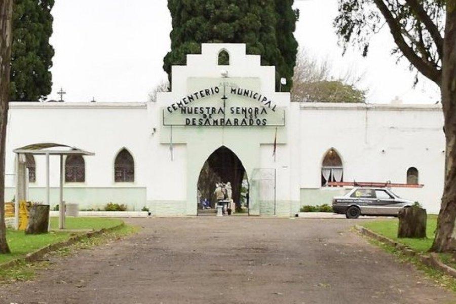Protocolo de ingreso al Cementerio de Curuzú Cuatiá