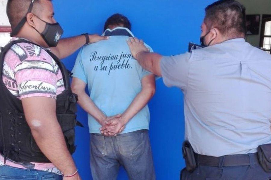 Detuvieron en San Cosme a un sujeto acusado de violación