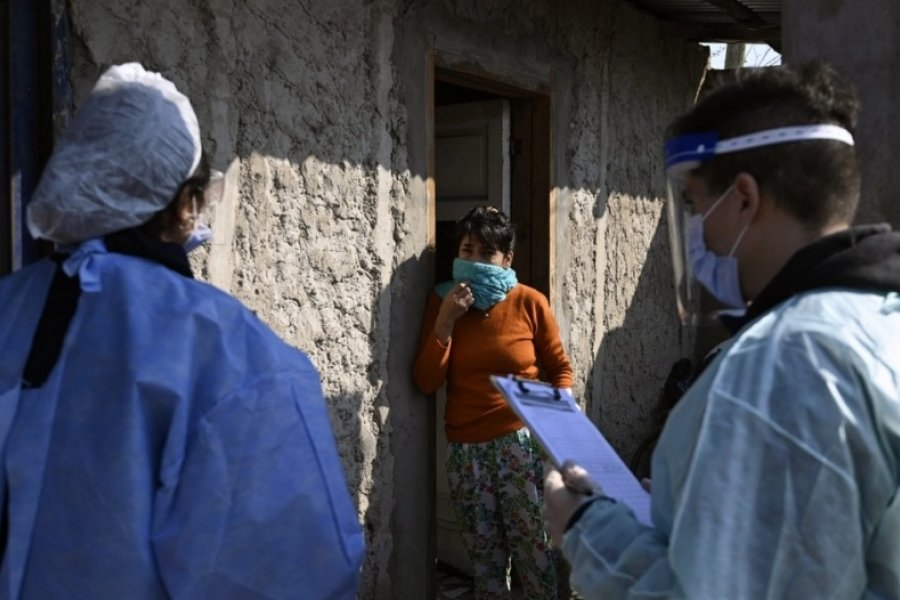 Coronavirus en Argentina: 350 muertes y 13.379 nuevos casos
