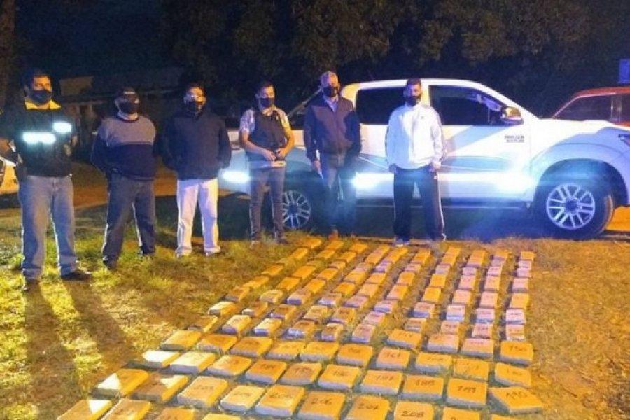Corrientes: La Policía secuestró más de 500 kilos de marihuana