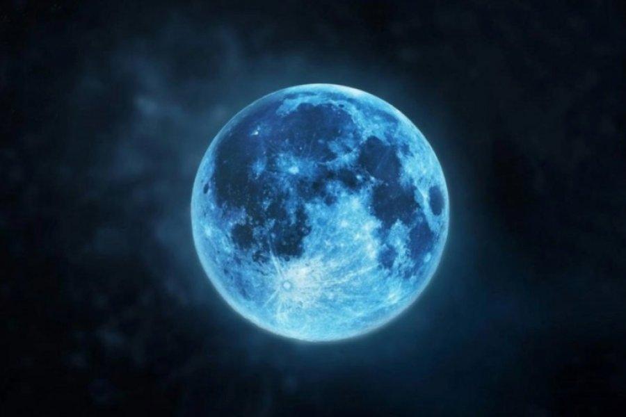 Qué es la Luna Azul, el extraño fenómeno que podrá verse hoy