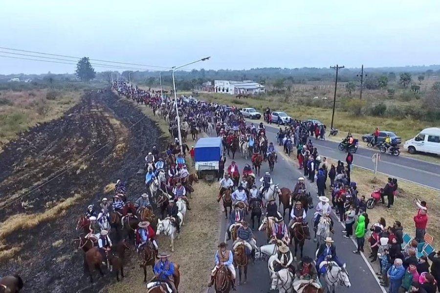 Proponen declarar patrimonio cultural a la peregrinación de San Luis a Itatí
