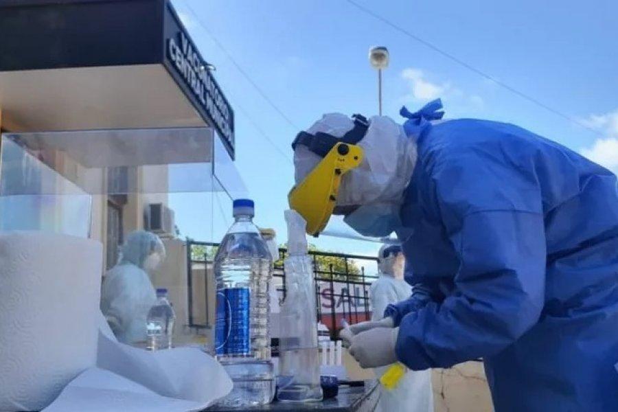 Realizaron hisopados a 120 trabajadores Municipales de Paso de los Libres