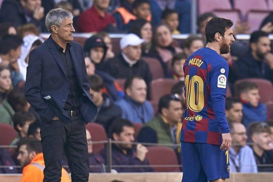 """Setién disparó contra Lionel Messi: """"Es difícil de gestionar"""""""