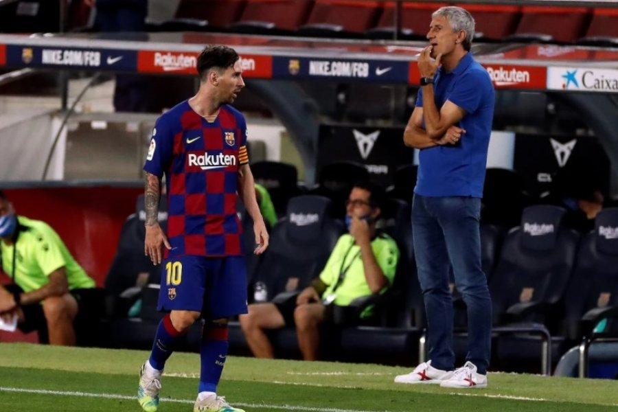 """Setién a Messi: """"Si no te gusta, ahí tienes la puerta"""""""