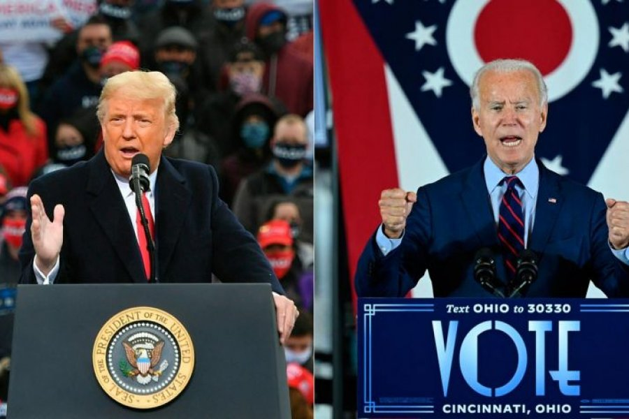 En la víspera de las elecciones en Estados Unidos, crece la tensión entre los candidatos