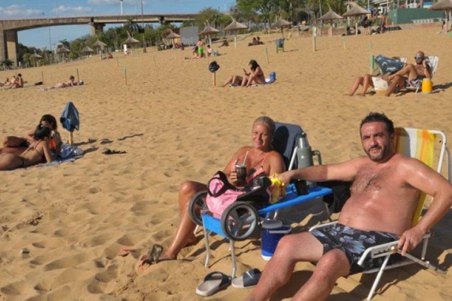 Corrientes: Habilitarán más playas sólo para tomar sol