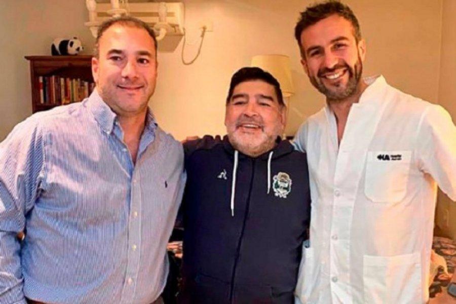 Nuevo parte médico de Maradona: Está consciente, él se ve bien y se quiere ir