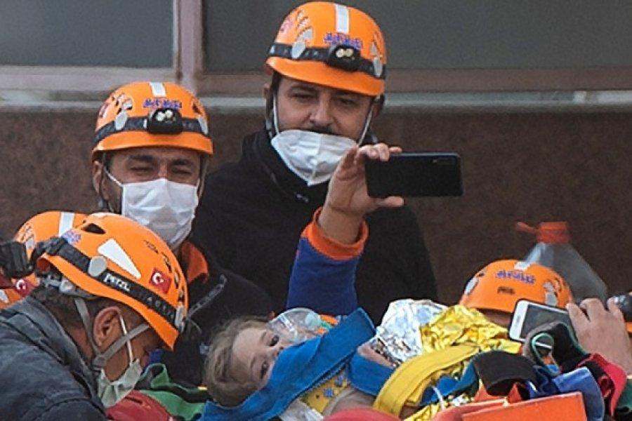 Otra niña de tres años fue rescatada con vida 91 horas después del sismo