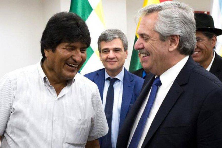 Alberto Fernández viaja a Bolivia junto a Evo Morales para asistir a la asunción de Arce