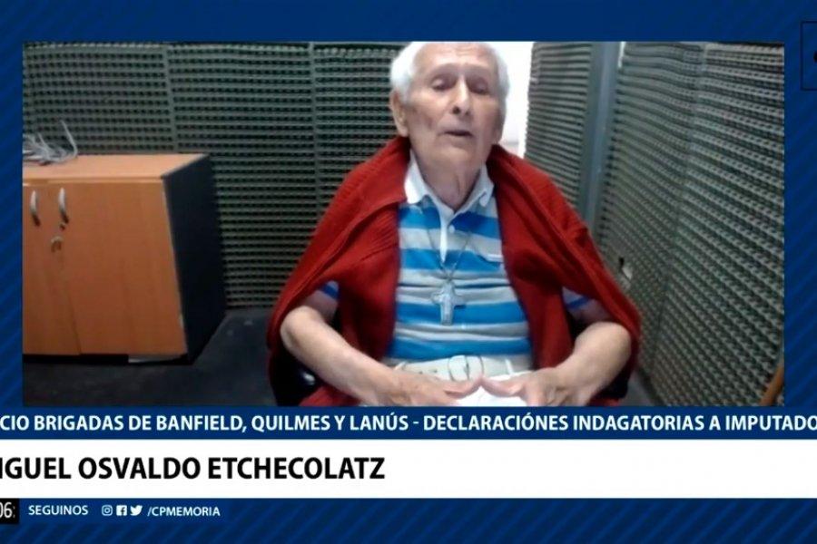 """Etchecolatz, tras negarse a ser indagado: """"Yo no maté, yo batí en combate que es distinto"""""""