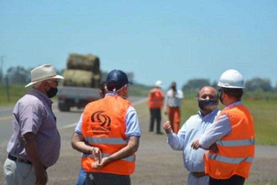 El Jefe de Vialidad Nacional Corrientes confirmó nuevas obras en Mercedes