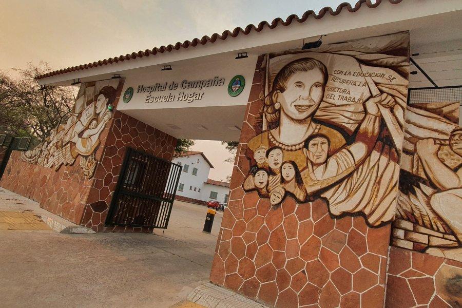 Veintiún internaciones más y ya son 164 los pacientes en el Hospital de Campaña