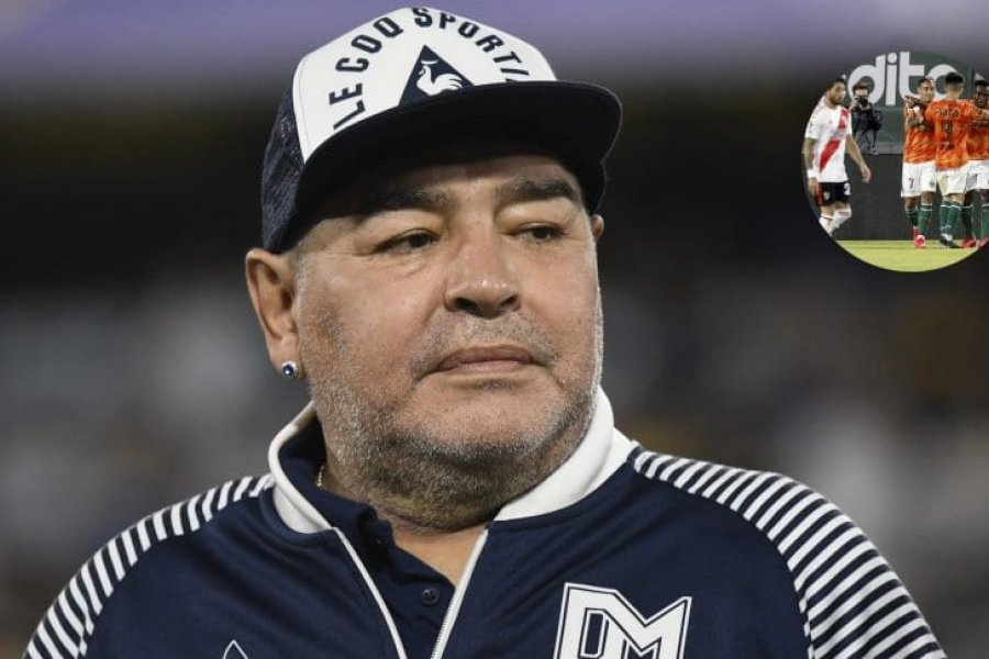 """Maradona se despertó y preguntó """"cómo salió River"""""""