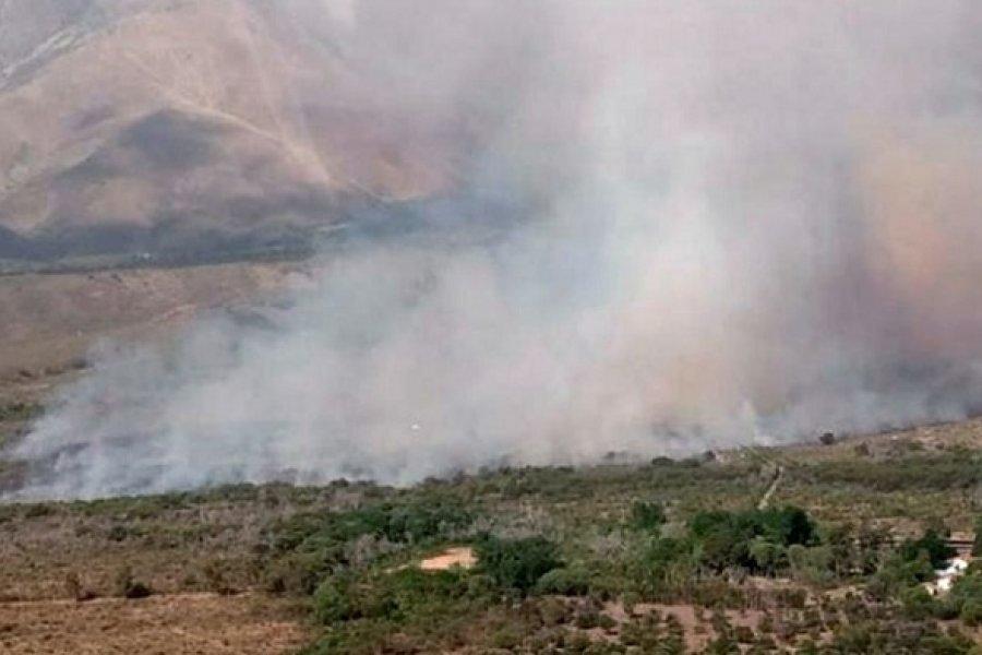Con cinco focos activos, Jujuy es la provincia más afectada por los incendios forestales