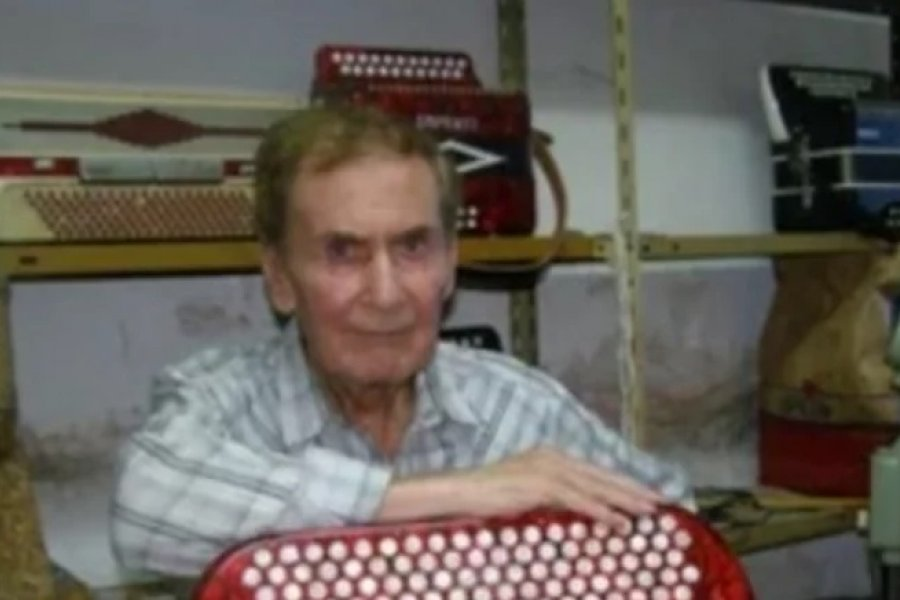 Falleció el acordeonista Roque Librado González