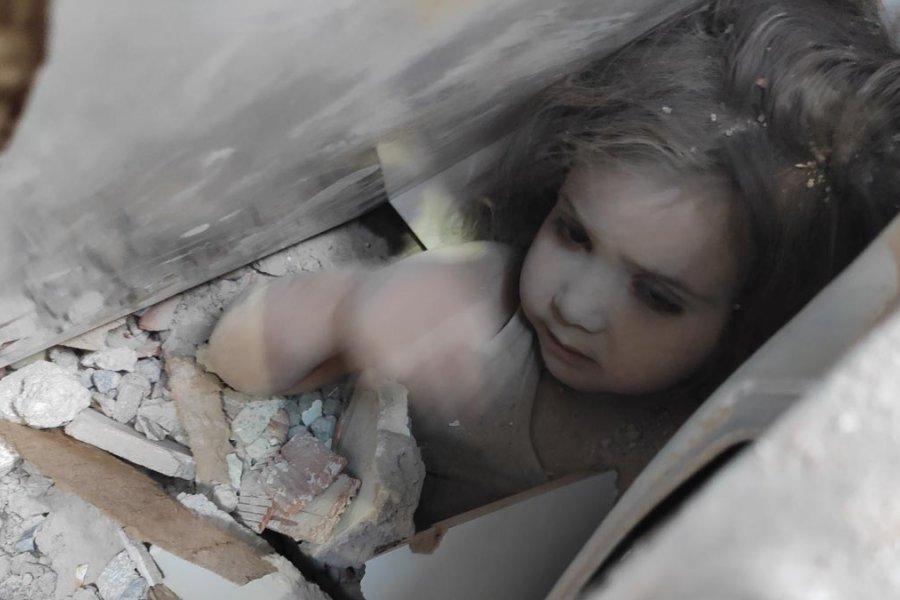 Emotivo rescate de una niña de 3 años tras el terremoto en Turquía