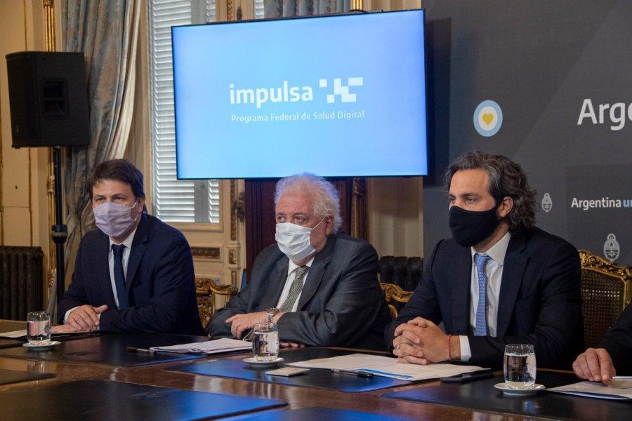 Valdés destacó la creación del Programa Federal de Salud Digital