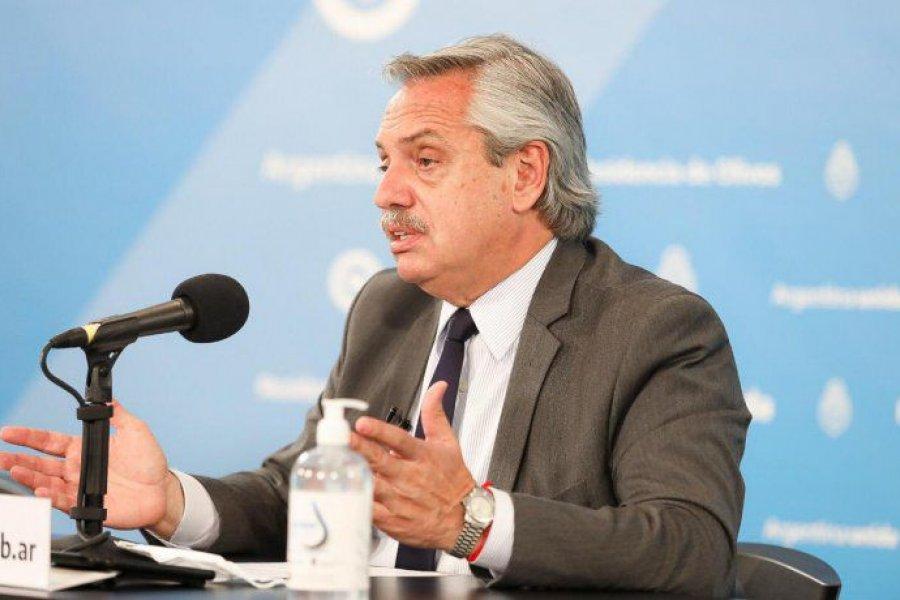 """Alberto Fernández: """"Vamos a crear un comando para organizar la vacunación, conmigo al frente"""""""