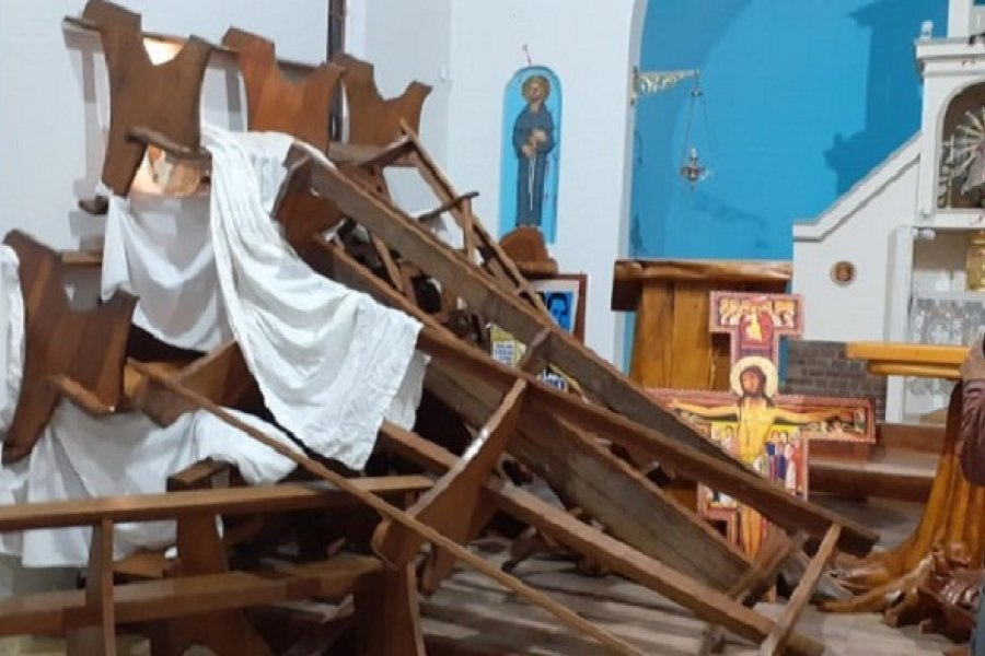 El obispo de Bariloche reclamó respeto y consideración hacia los lugares sagrados