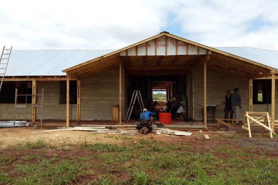 Corrientes apuesta por la construcción de viviendas en madera