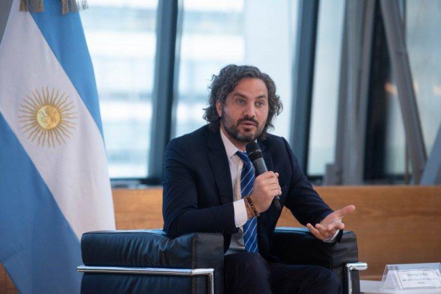 """Santiago Cafiero, sobre la llegada de misión del FMI: """"No hay espacio para ajustes"""""""