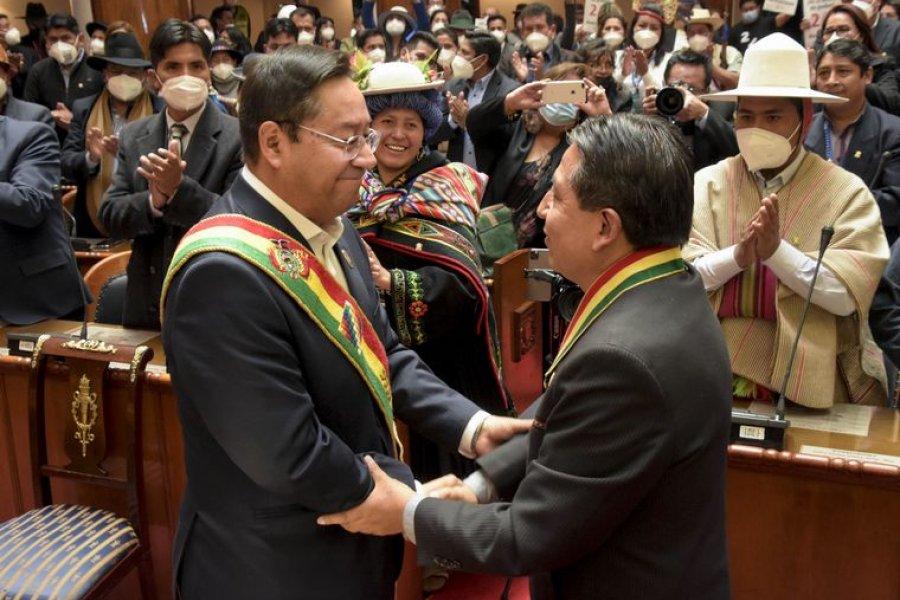 Luis Arce asumió la presidencia  de Bolivia